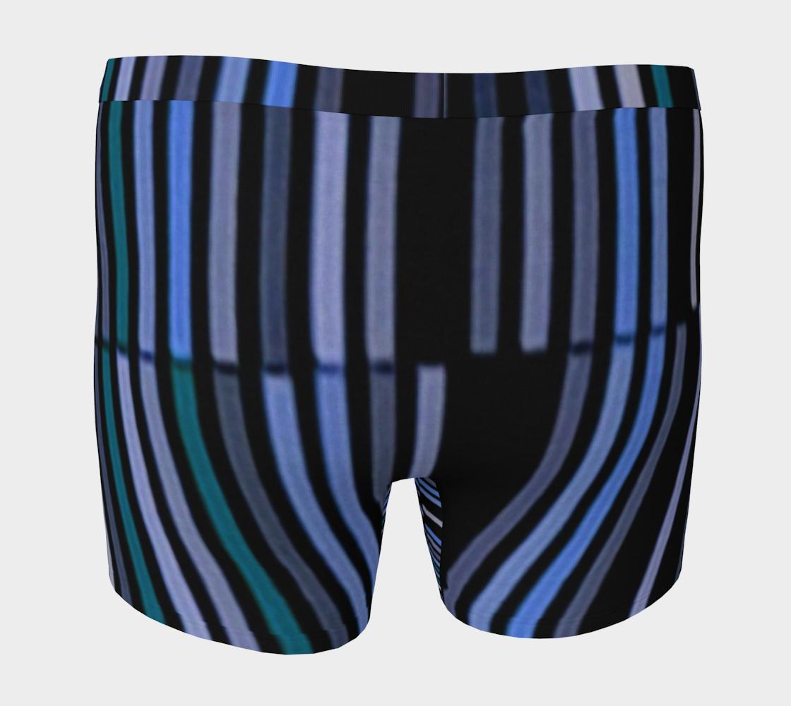 Aperçu de Shades of Blue Gray Modern Striped Pattern #4