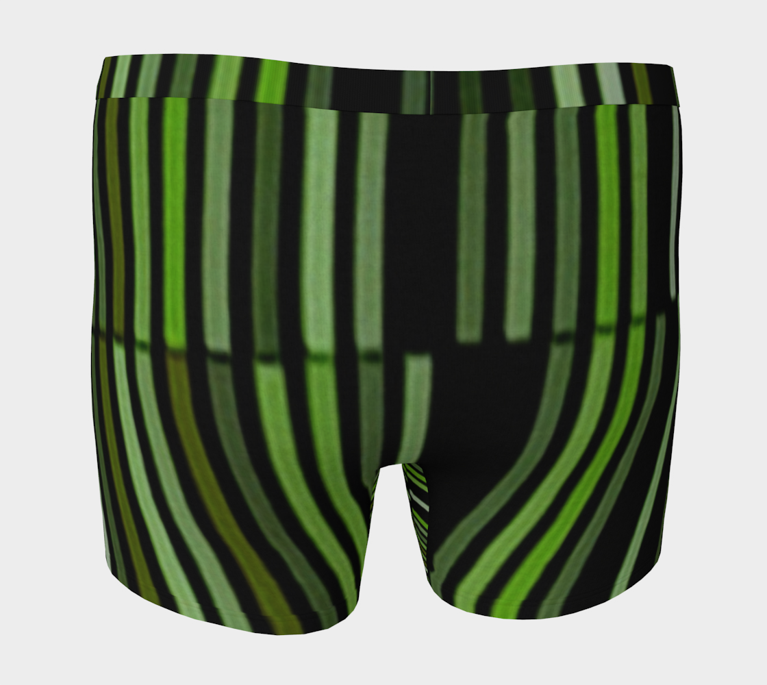 Shades of Green Black Modern Striped Pattern preview #4