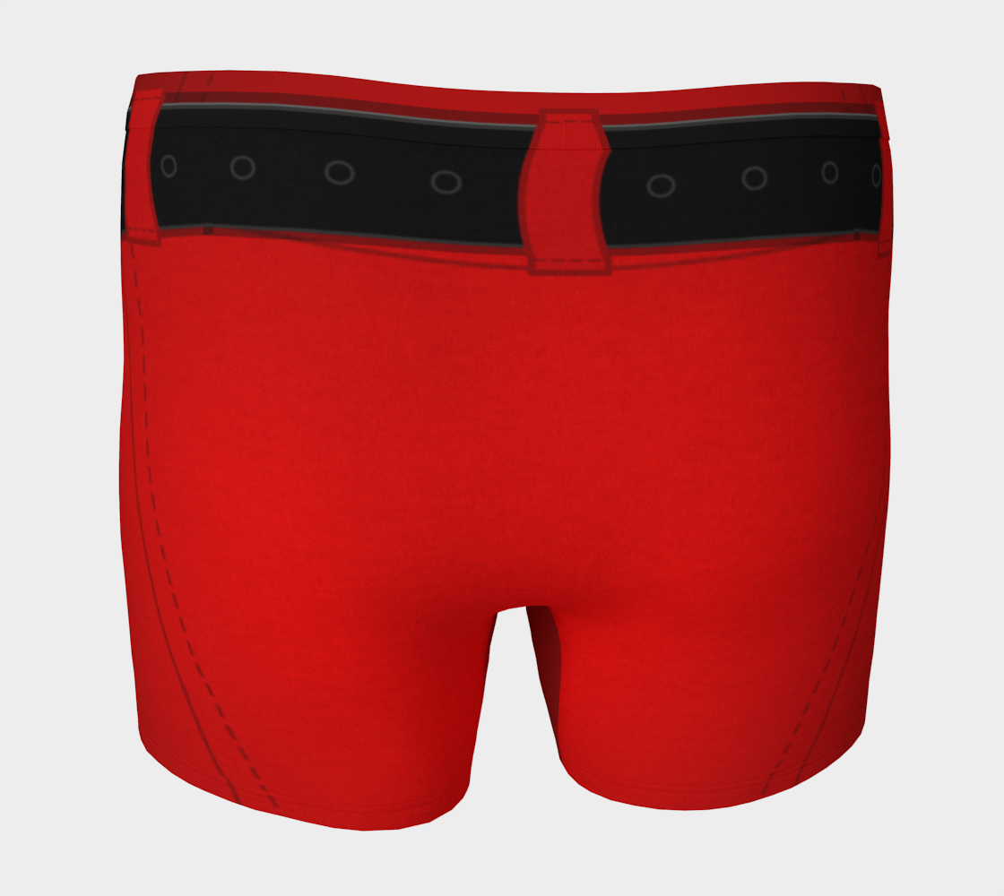 Aperçu de Funny Santa Underwear Christmas Boxer Briefs #4