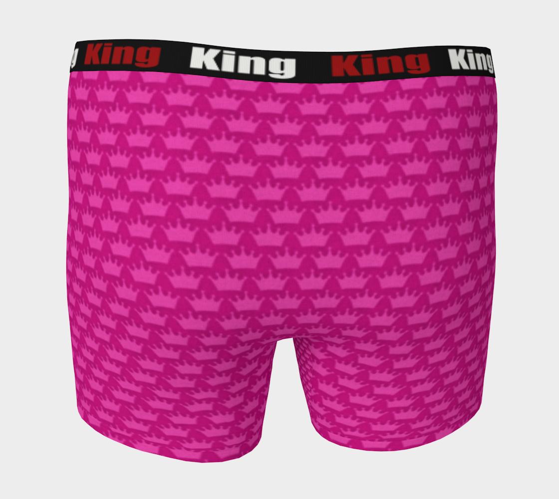 Men's Boxer Briefs Pink Crown preview #4