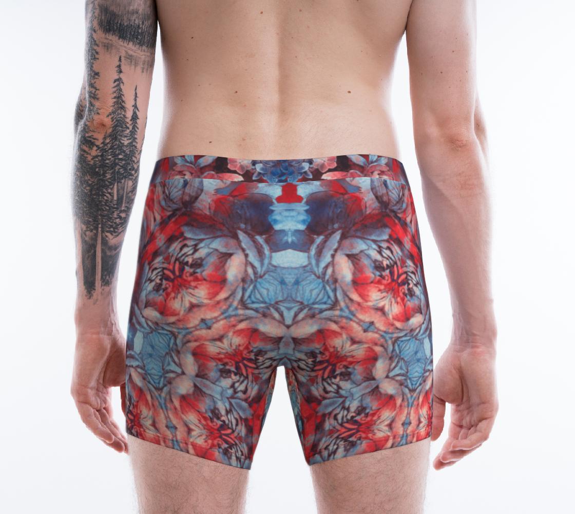 Aperçu de red and blue art #boxerbriefs #2