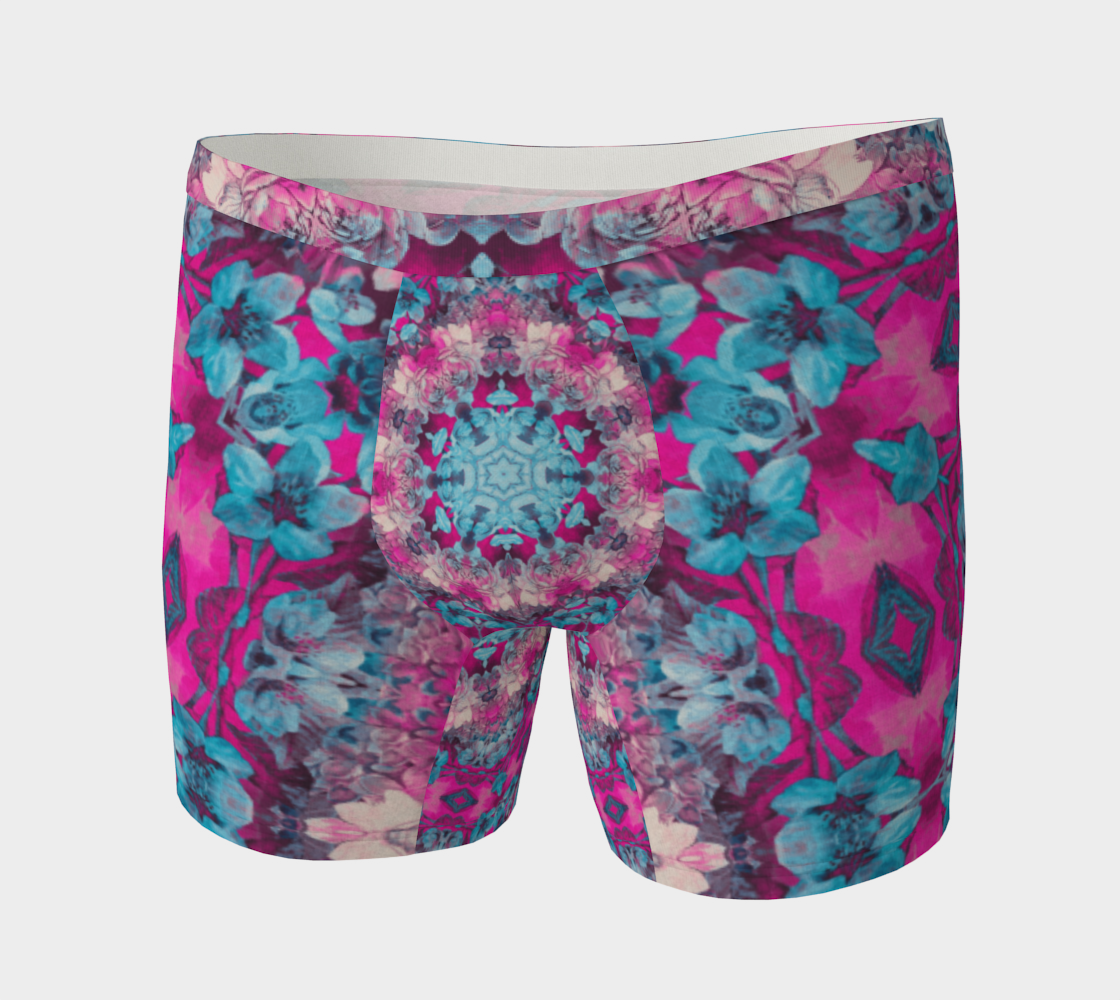 Aperçu de pink and blue art #boxerbriefs
