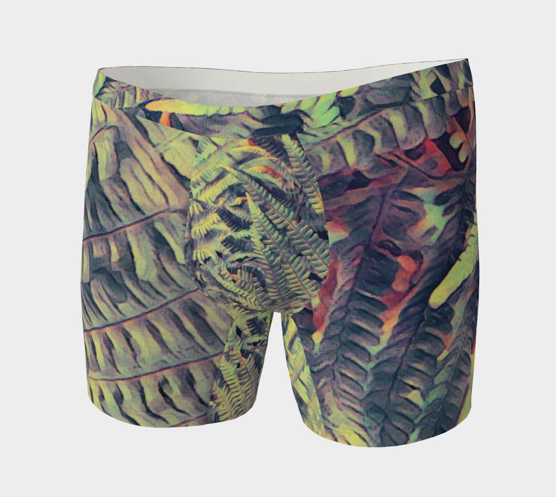 Aperçu de green ferns #boxerbriefs