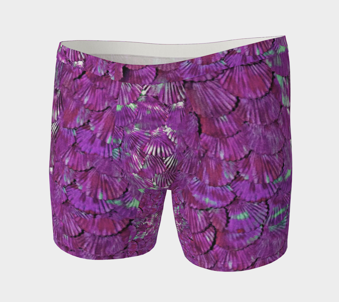 Fuchsia Merman Scale Boxer Briefs  preview