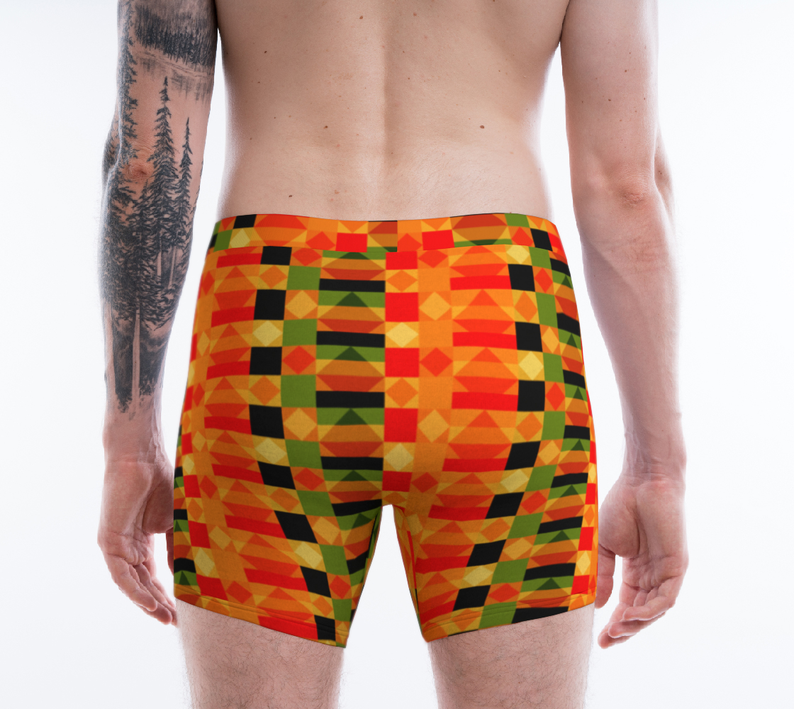African Kente Cloth Pattern preview #2