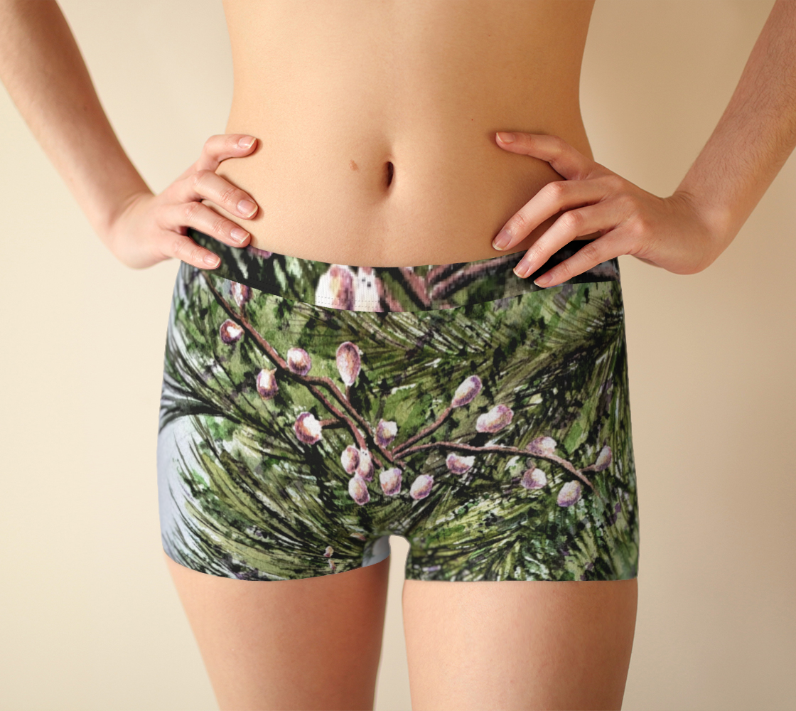 Pine Needles BoyShorts 3D preview