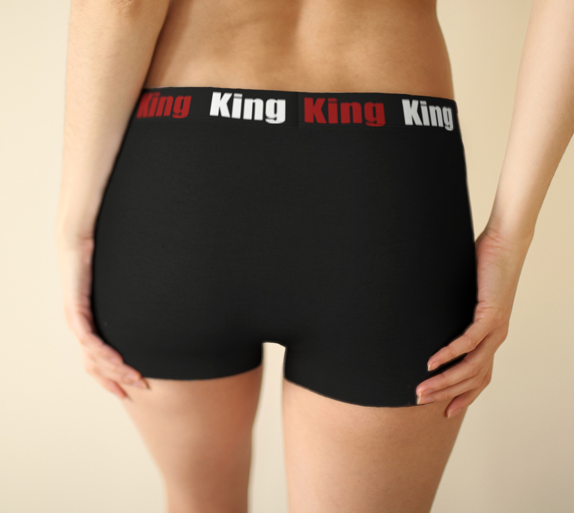 Girlshorts Little Black Crown - I Like It KingSize preview #2