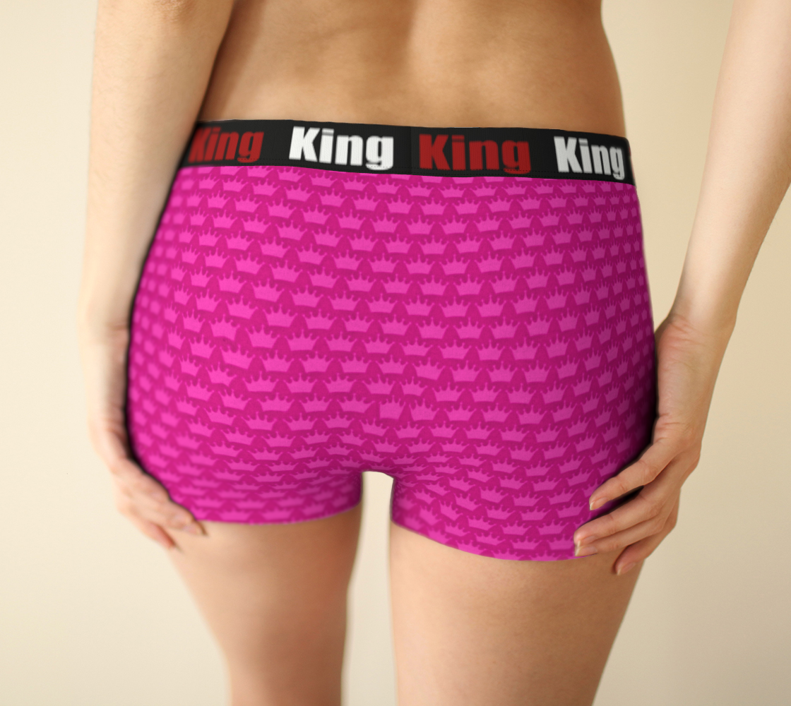 Girlshorts Little Pink Crown - I Like It KingSize preview #2