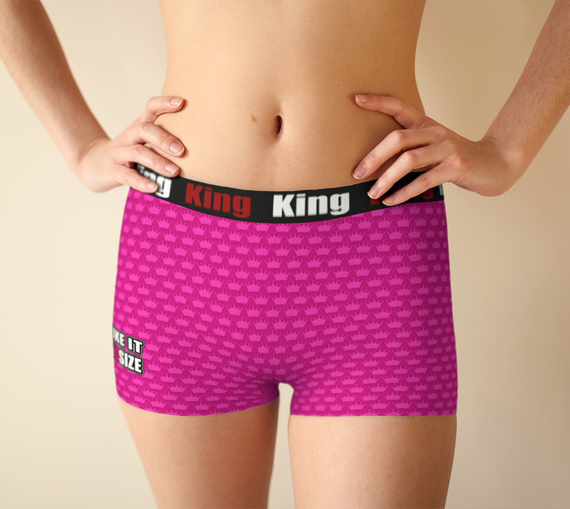 Girlshorts Little Pink Crown - I Like It KingSize preview #1