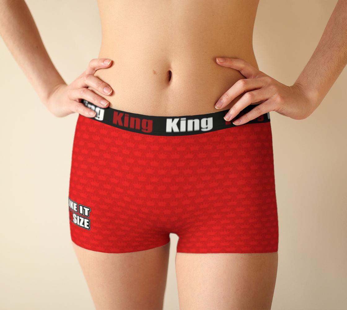 I like it KingSize - Red - Girlshorts preview #1