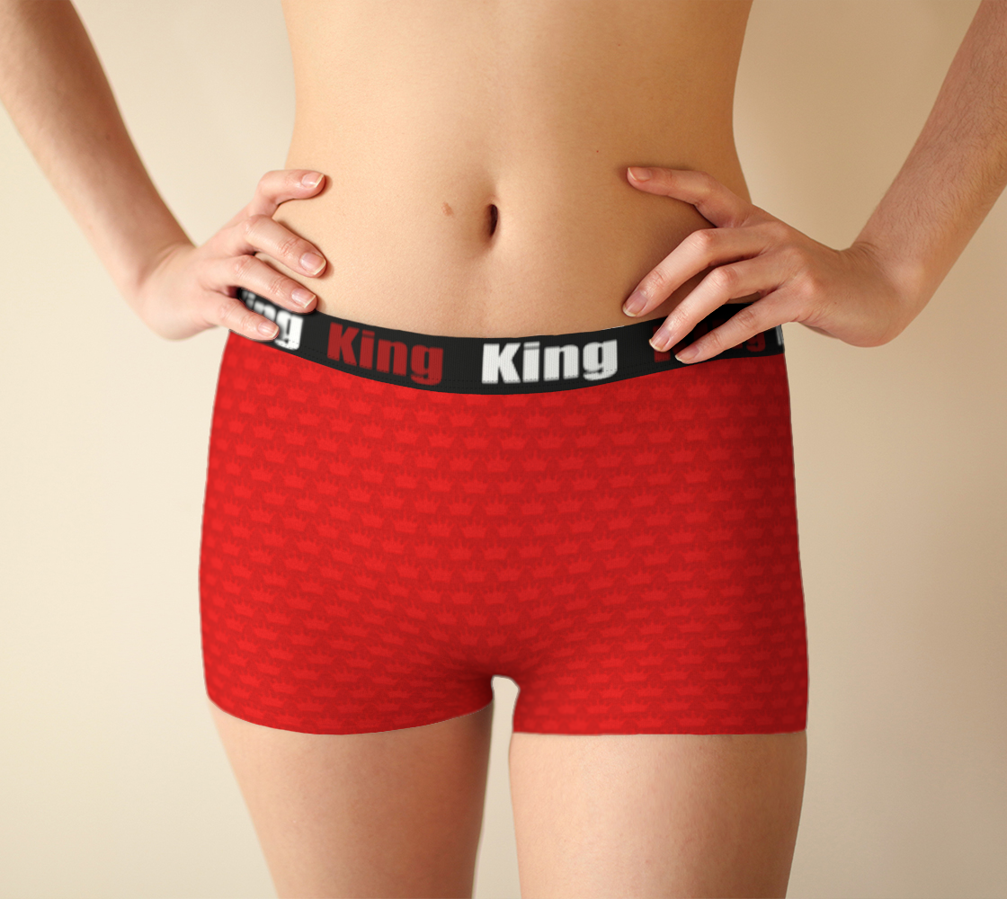 King - Little crown - Red - Girlshorts preview #1