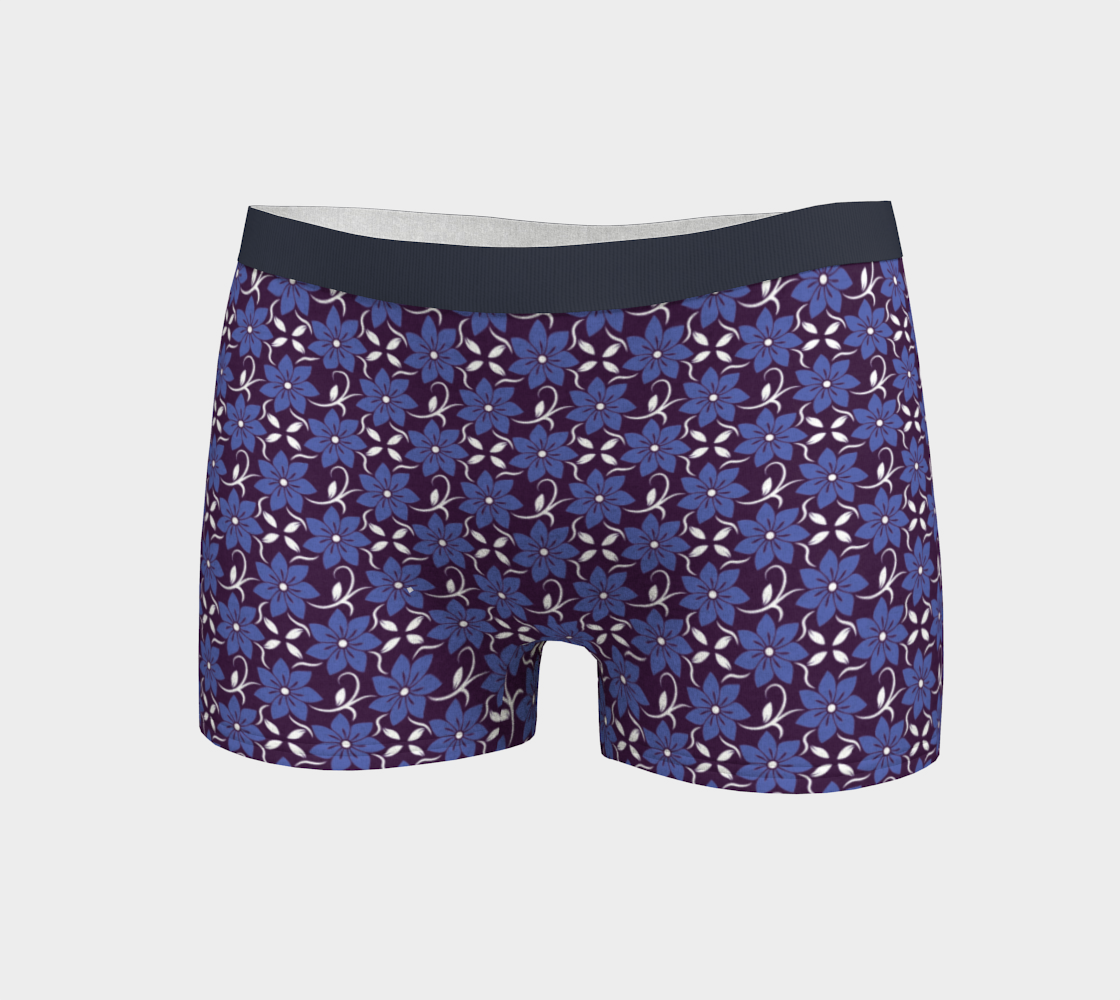 Spring Wildflower Pattern Navy preview