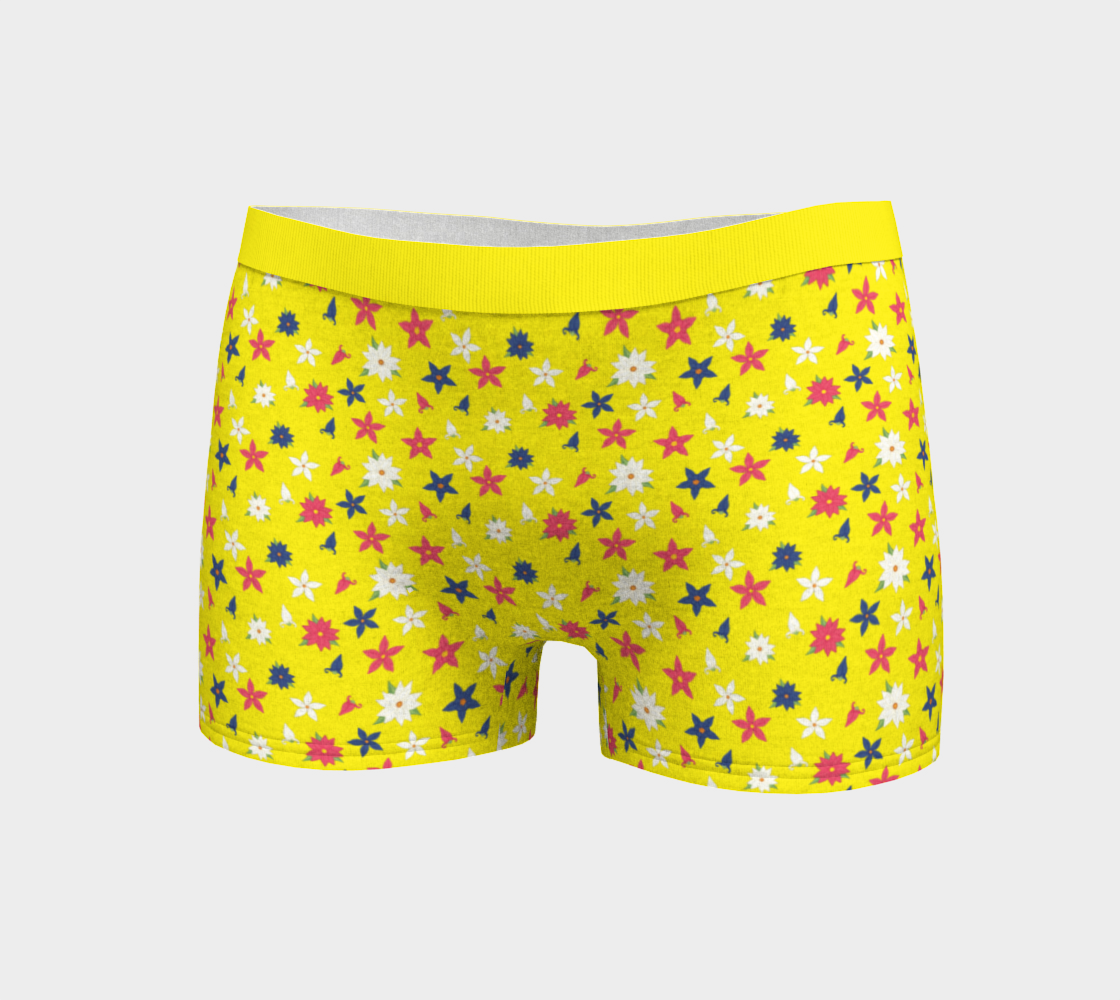 Spring Pixie Flower Print Yellow preview