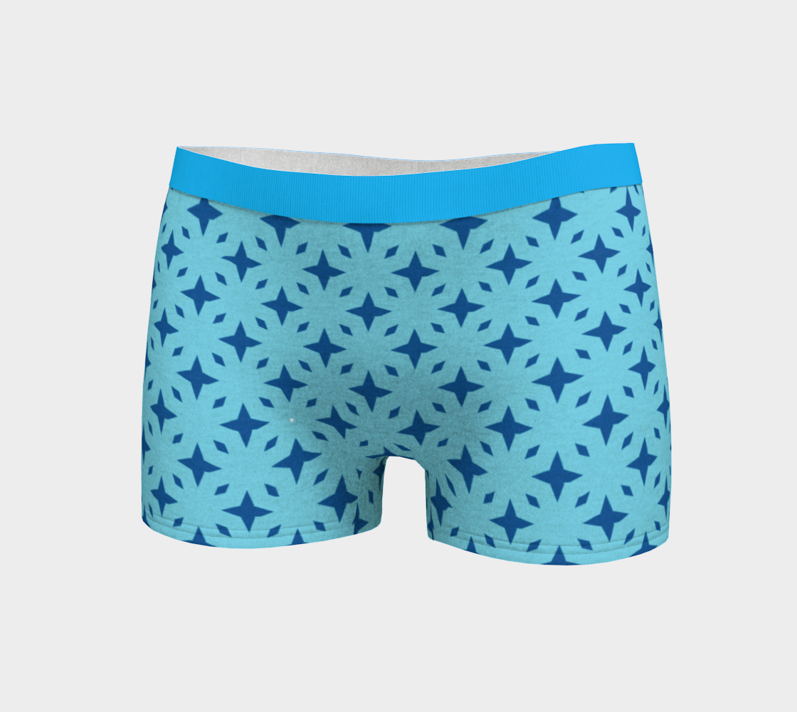 Star Pattern Turquoise & Sky Blue preview