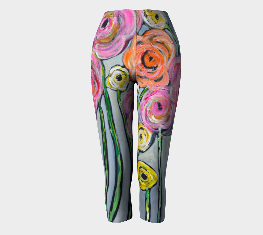 Bloom where you are planted capris preview
