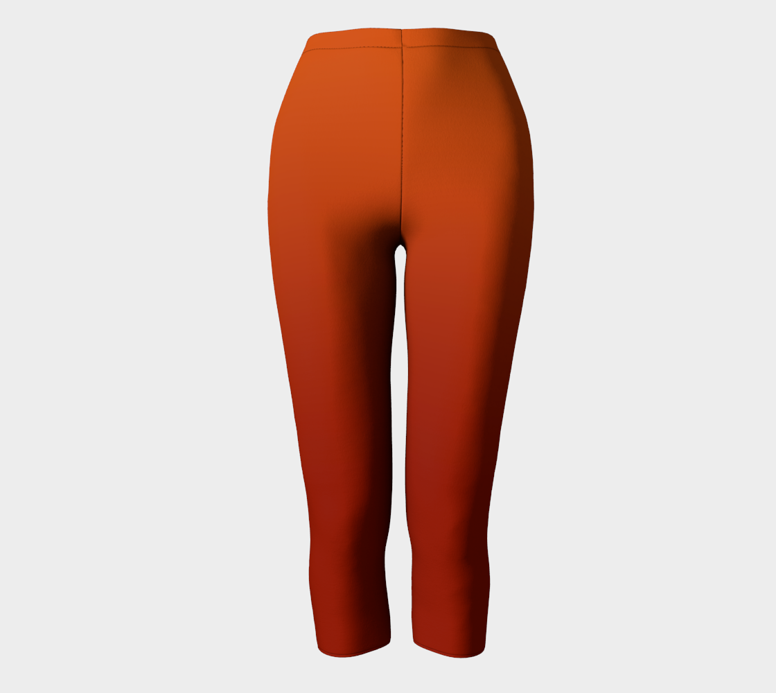 Red Orange Brown Copper Gradient Compatible Capri preview