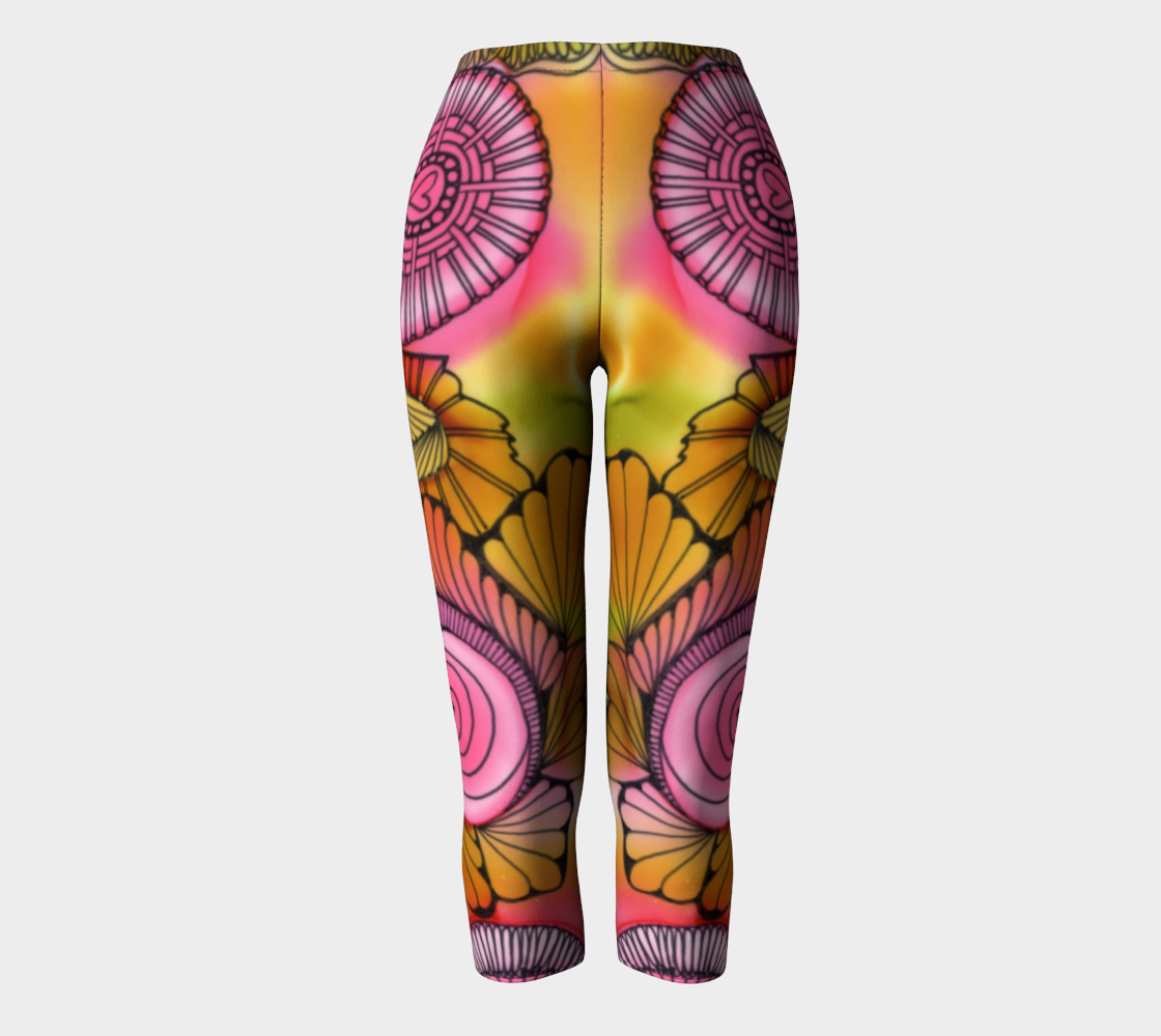 Pink Swirl Capris preview