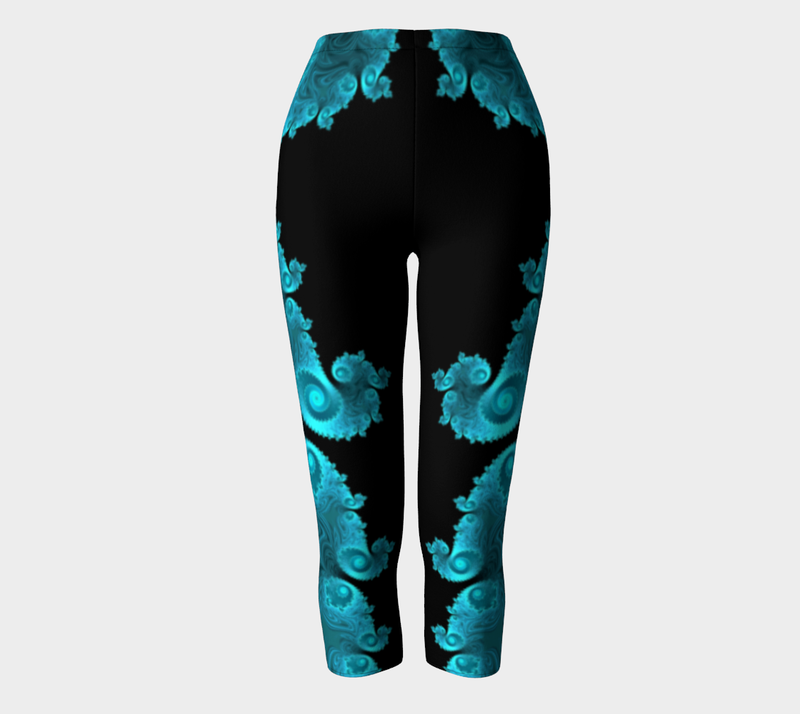 Black Ice Capri Leggings preview