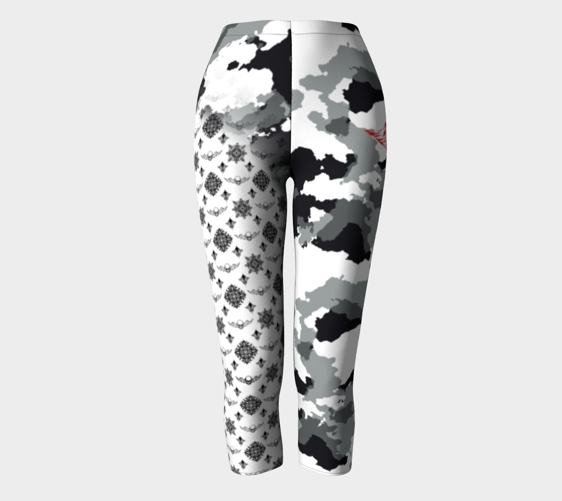 Camo Pattern Leggings that look great while you workout and turn heads as street fashion. aperçu