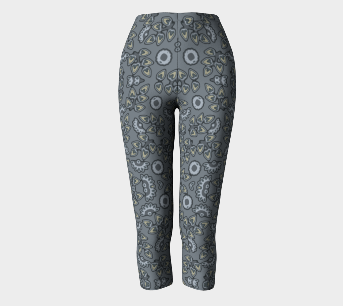 Retro pattern in gray aperçu