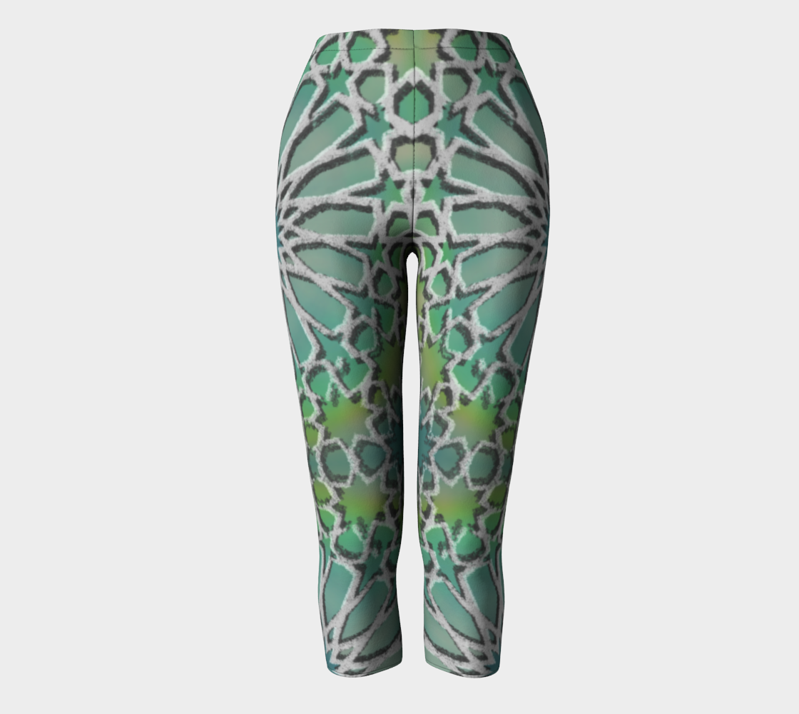 Tangier Gate Capri Leggings  preview