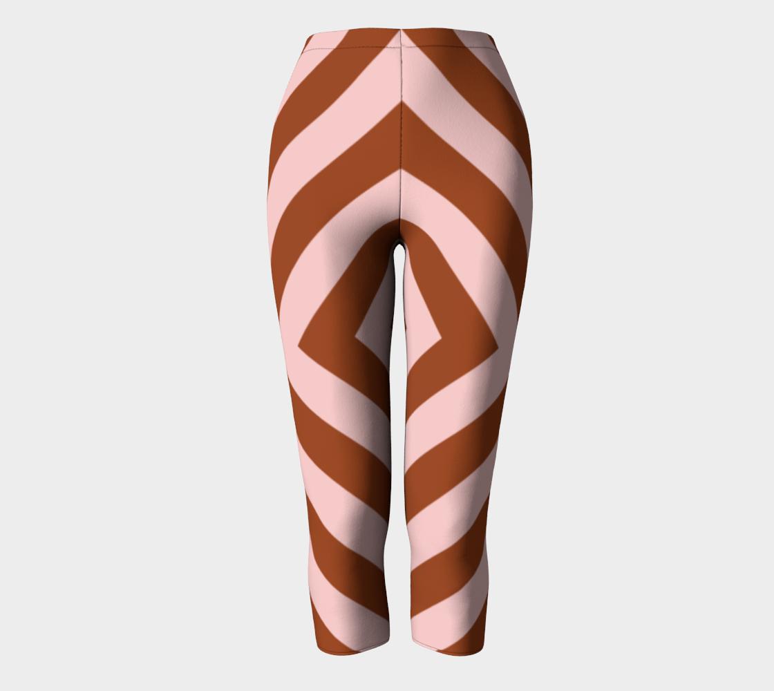 Arrow Pattern Pink & Cinnamon aperçu