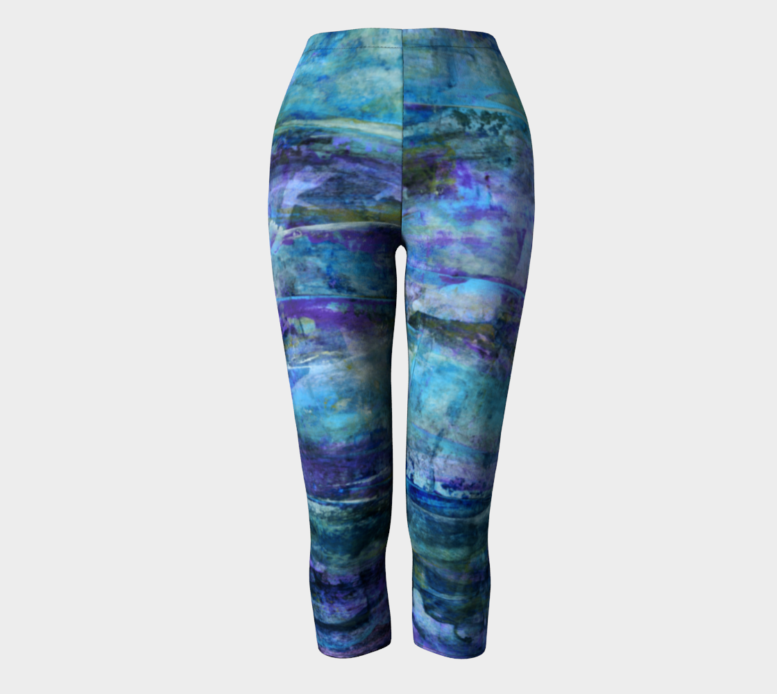 Foggy Night Capris preview