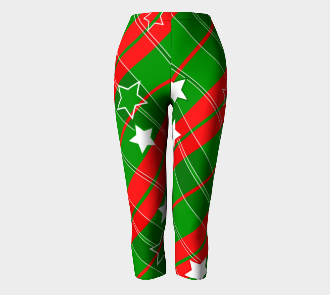 Christmas Flannel Capris preview