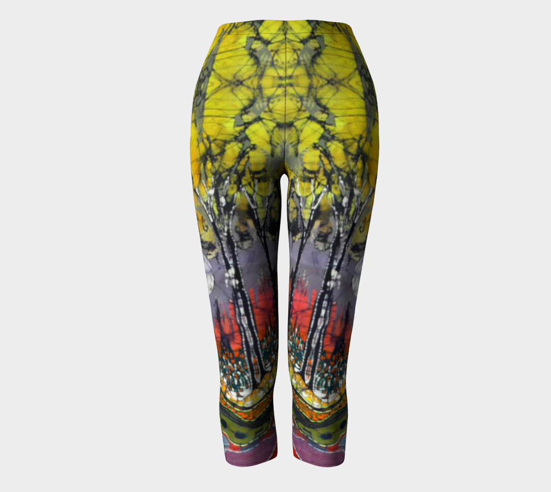 Moon Over Spring Capris preview