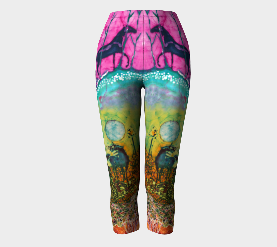 Horses in the Moon Capris preview
