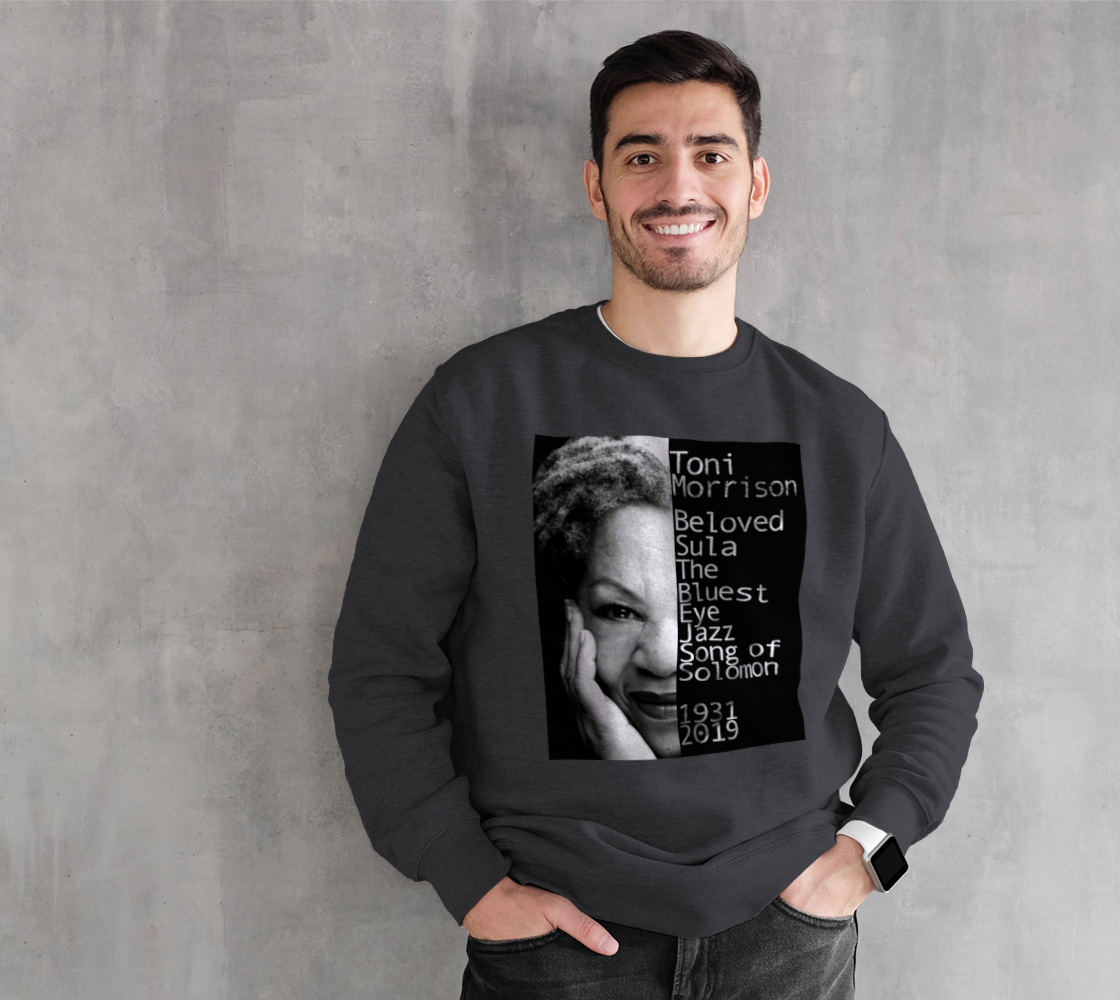 Toni Morrison Gray Sweatshirt preview
