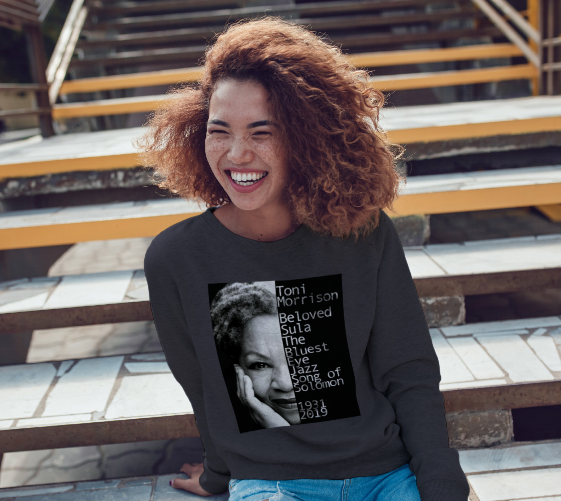 Toni Morrison Gray Sweatshirt preview #3