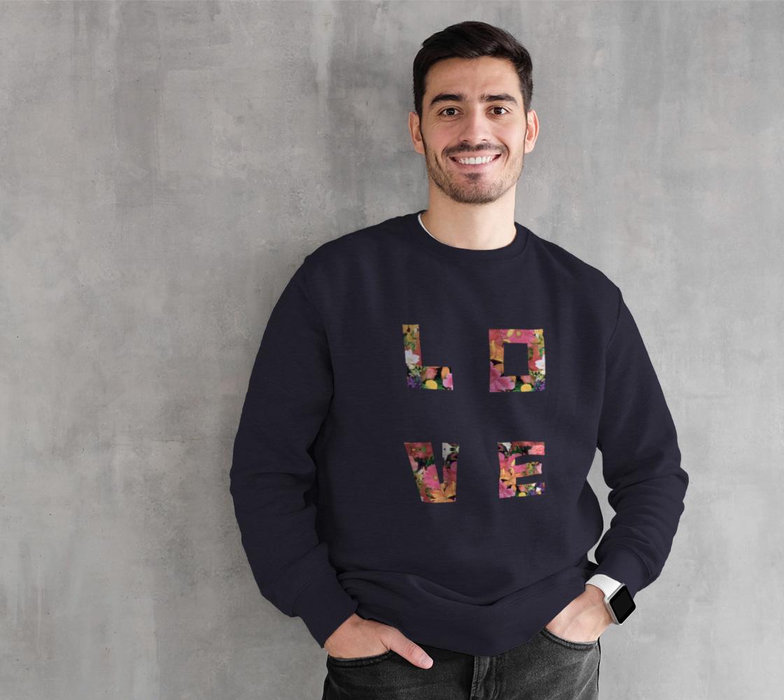 LOVE Sweatshirt - Navy preview