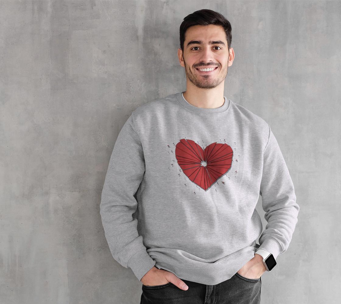 Heartshot Crewneck Sweatshirt preview