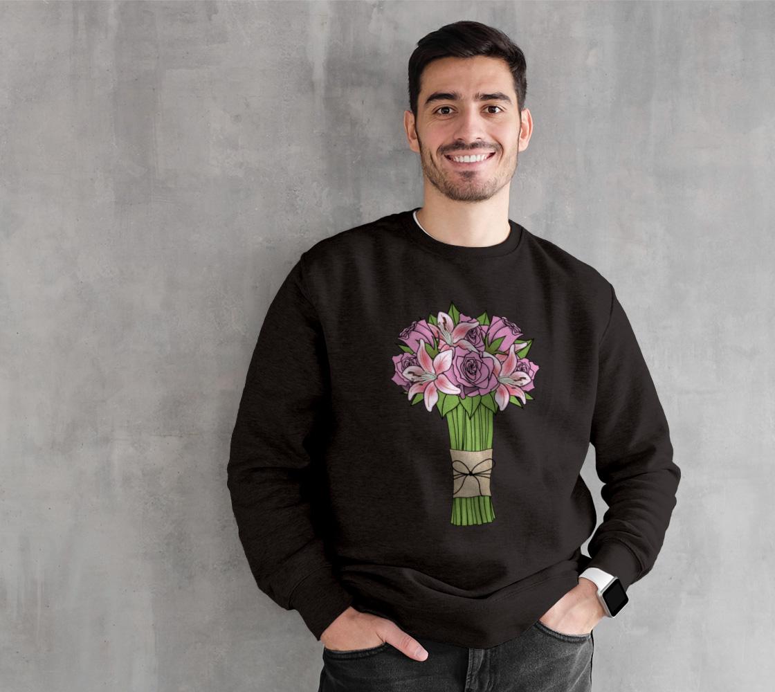 Bouquet of Flowers Crewneck Sweatshirt preview