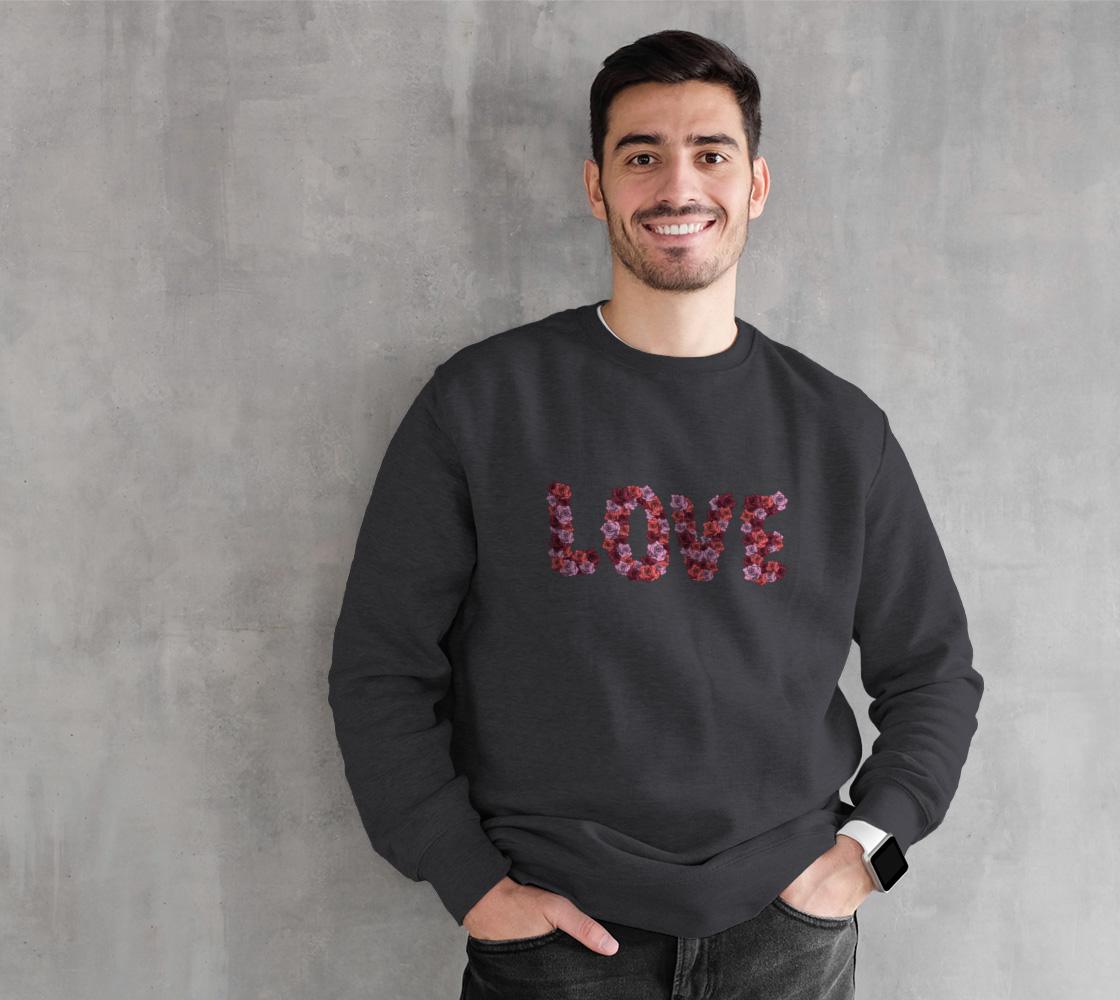 Blooming Love Crewneck Sweatshirt preview