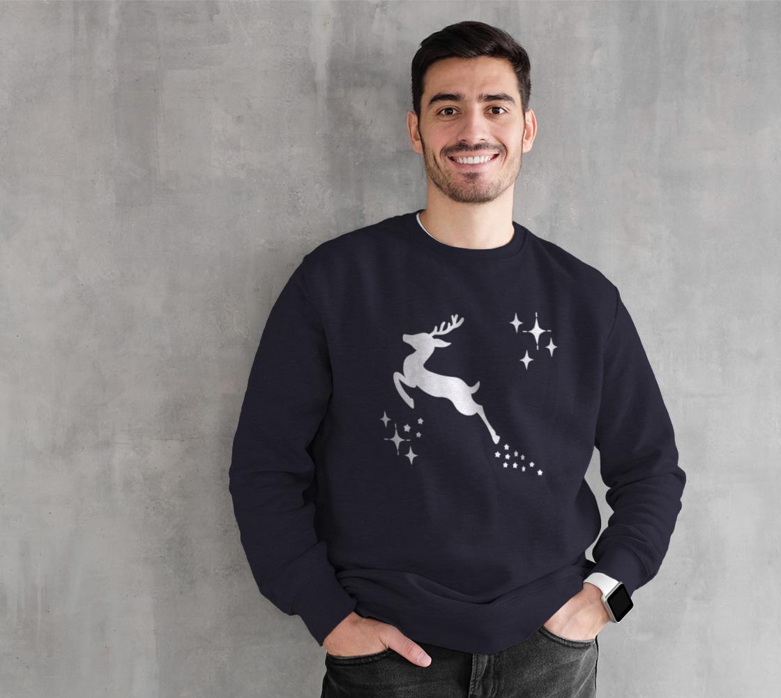 Let it snow, Deer Crewneck Sweatshirt preview