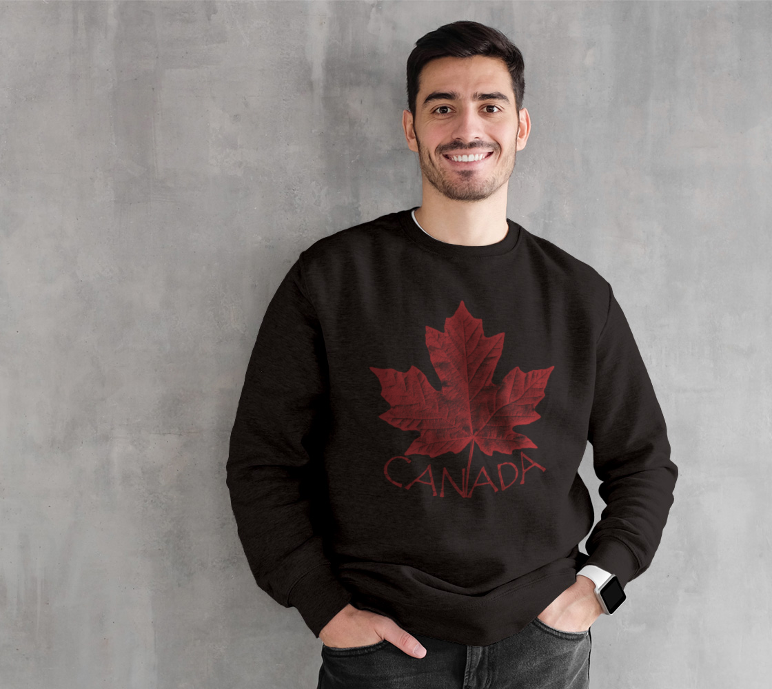 Vintage Canada Maple Leaf Sweatshirts preview
