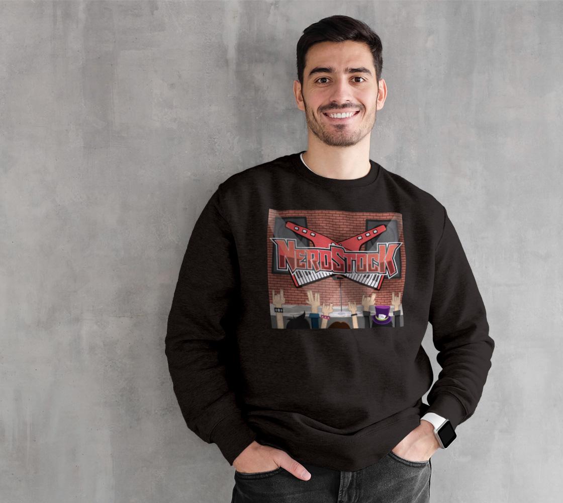 Decker design on crewneck sweatshirt preview