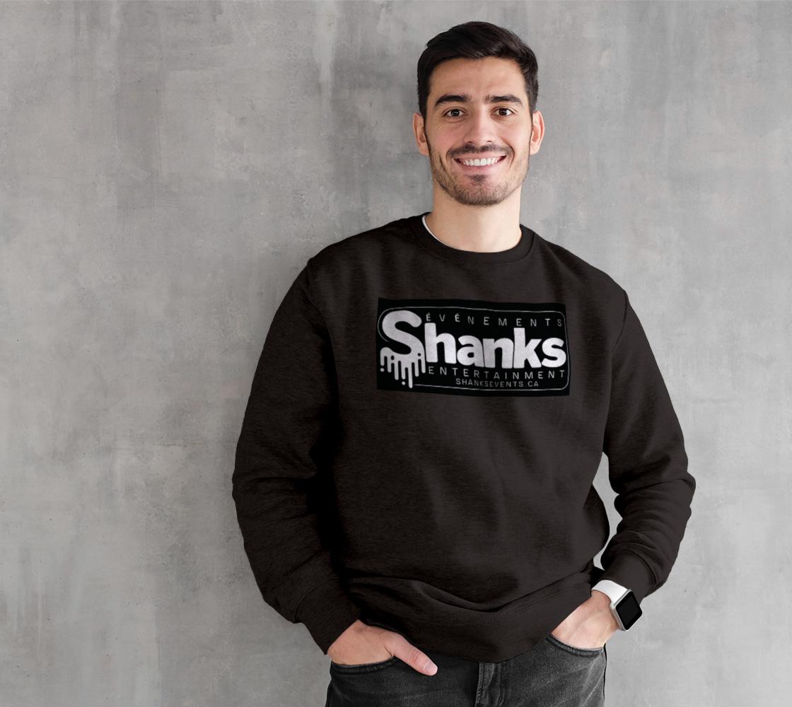 S.E.E. white logo crewneck sweatshirt  preview