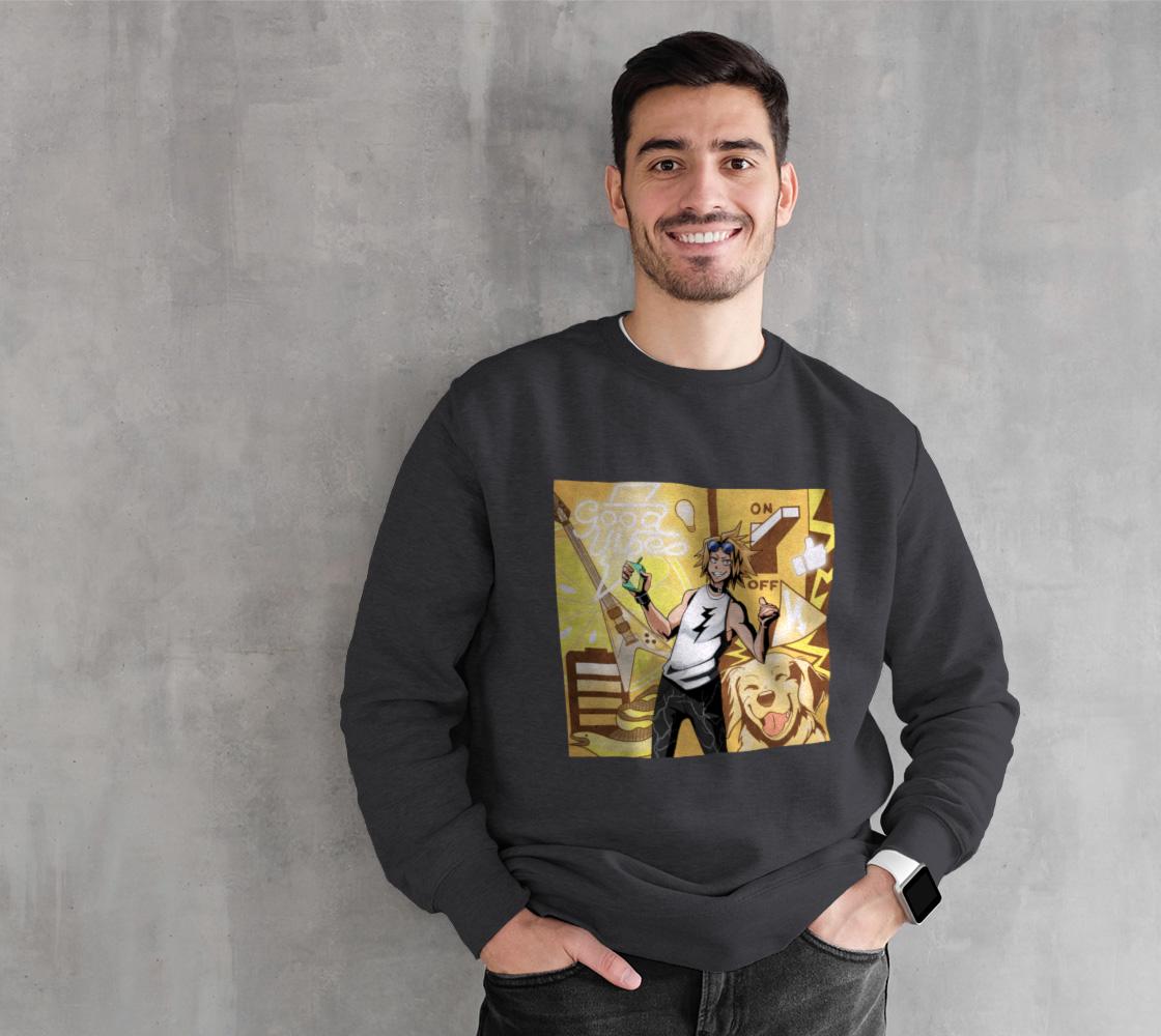 Yellow Boi Aesthetic - Sweatshirt preview