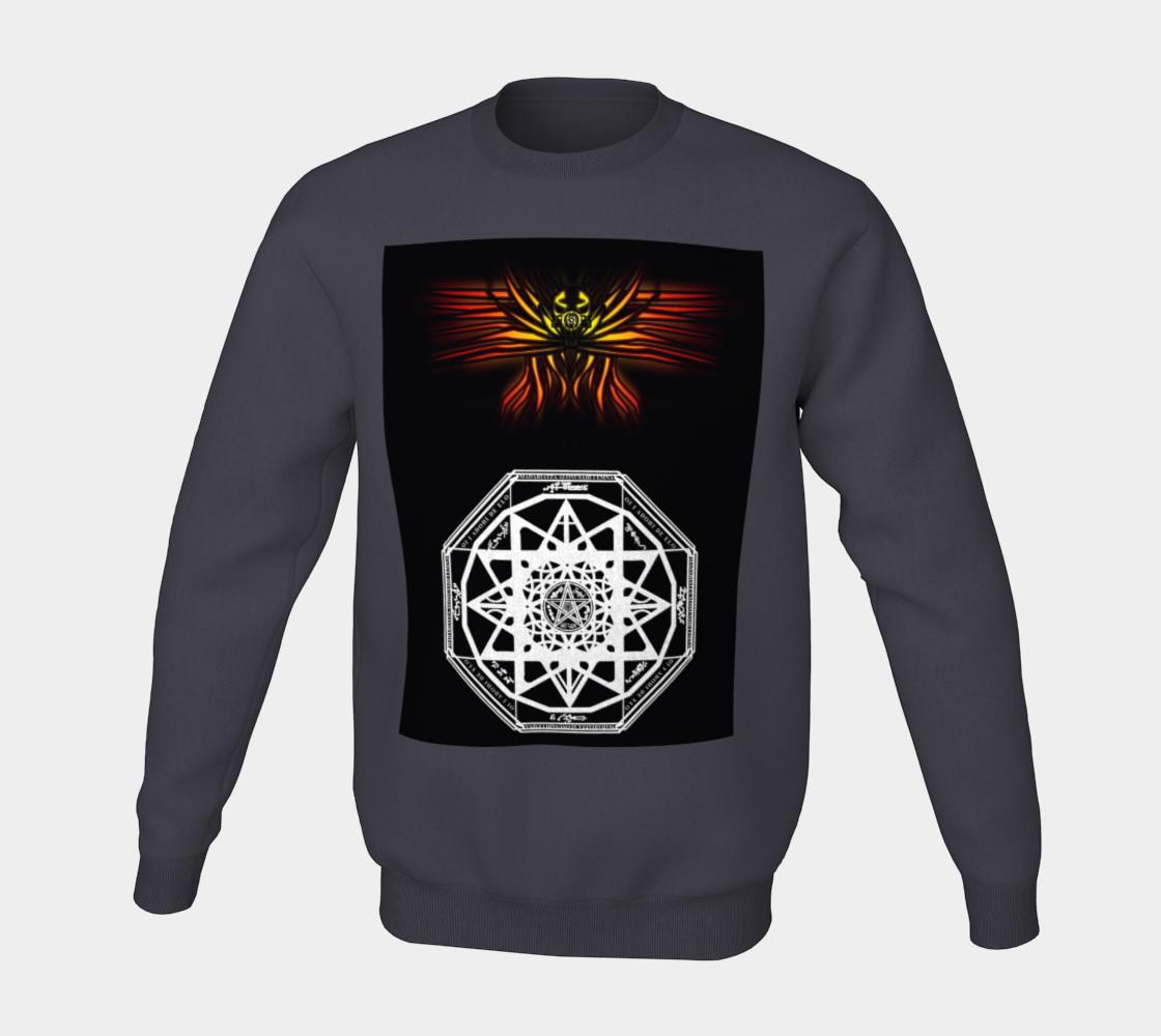Seraphim Skull Protection Sweatshirt preview #5