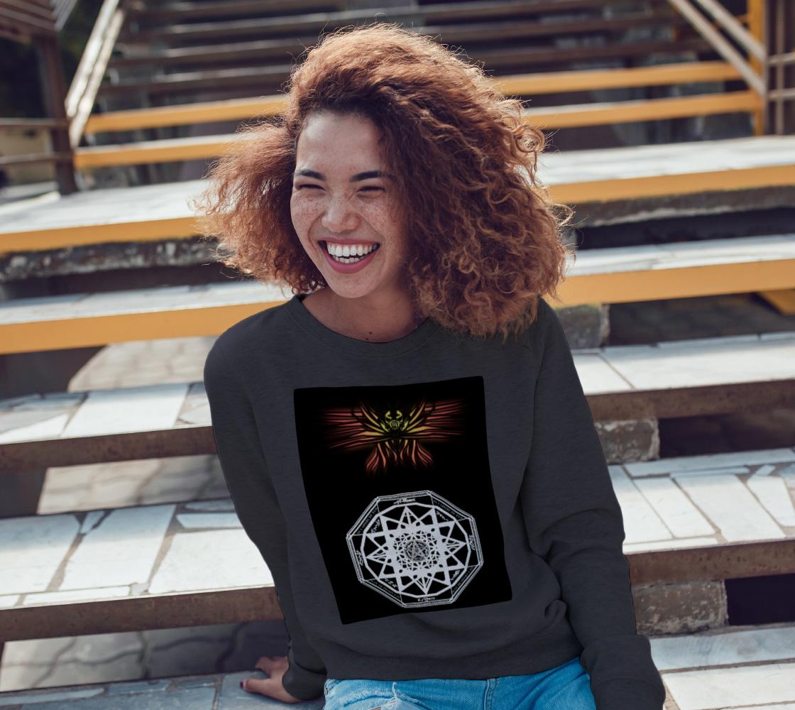 Seraphim Skull Protection Sweatshirt preview #3