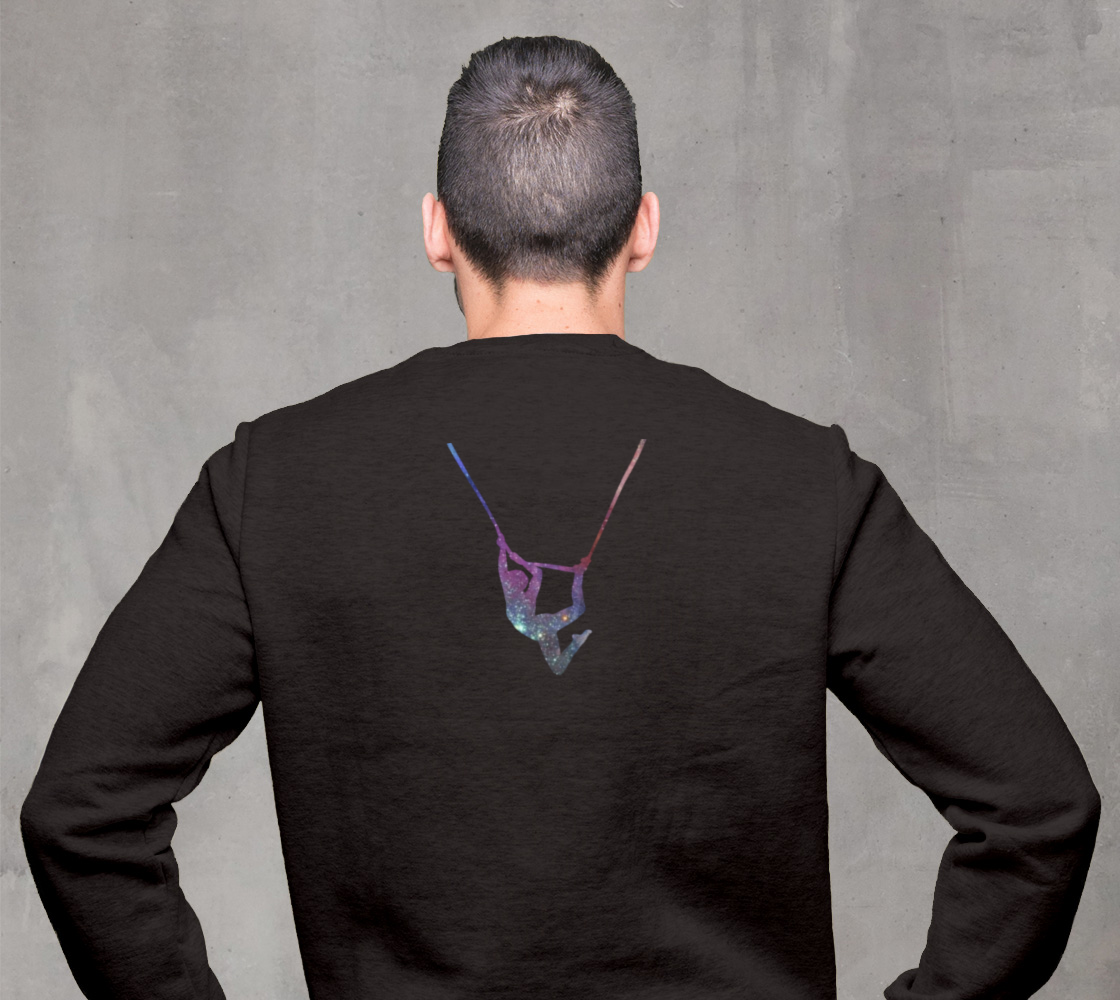 I Can Fly - What's Your Superpower? Aerial Stars Silks Sweatshirt preview #2