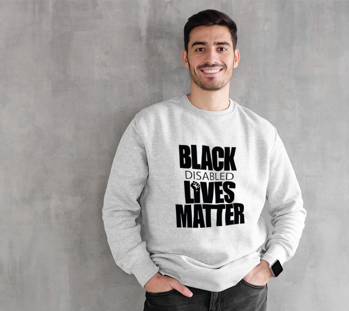 Black Disabled Lives Matter White preview