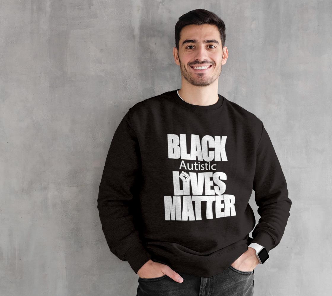 Black Autistic Lives Matter White preview