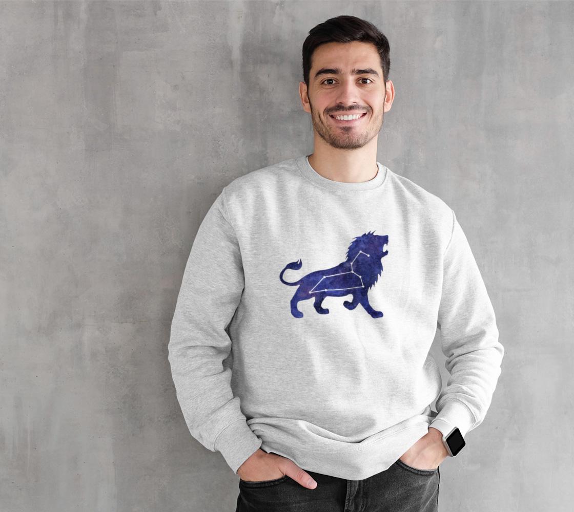 Astrological sign Leo constellation Crewneck Sweatshirt preview