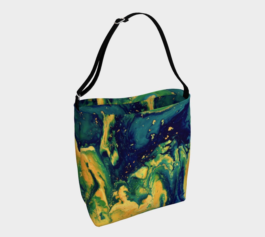 Aperçu de Golden Night Tote Bag