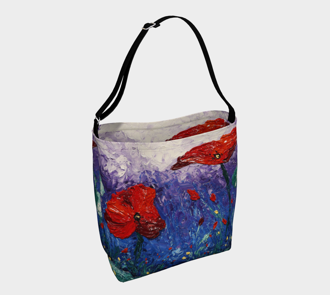Water Poppies Day Tote preview