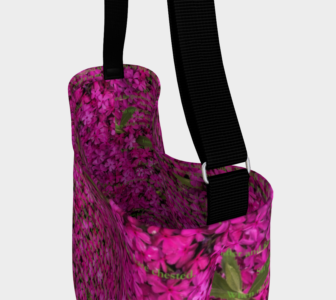 don't take yourself too seriously neoprene tote preview #3
